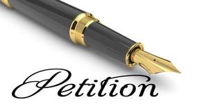 petition Lizenzfreies Stockfoto