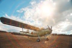 Petits aéronefs Photos stock