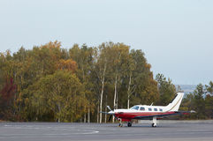 Petits aéronefs privés Images stock