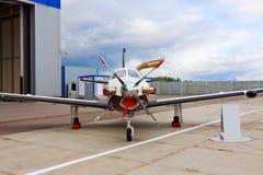 Petits aéronefs privés de propulseur avec une engine Photos stock
