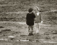 Petits amis Photo stock