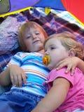 Petits amis Photographie stock libre de droits