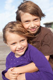 Petits amis heureux Image libre de droits