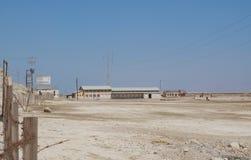 Petits bâtiments industriels abandonnés Images libres de droits