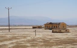Petits bâtiments industriels abandonnés Photographie stock libre de droits