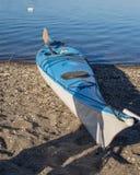 Petits bateaux attendant l'été Photographie stock libre de droits