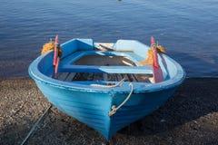 Petits bateaux attendant l'été Photos stock
