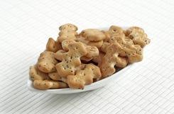Petits biscuits figurés Image libre de droits