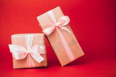 Petits cadeaux de Noël Images stock