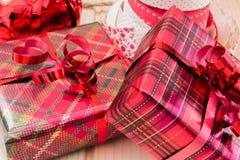 Petits cadeaux de Noël Photos libres de droits
