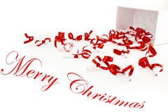 Petits cadeaux pour Noël Photos libres de droits