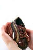 Petits chaussure de chéri et parents h Image libre de droits