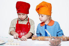 Petits chefs, Photographie stock
