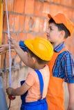 Petits constructeurs photos libres de droits