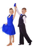 Petits couples de danseurs Image libre de droits
