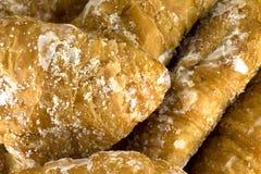 Petits croissants bio Images libres de droits