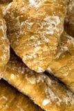Petits croissants bio Photo libre de droits
