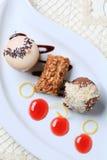 Petits desserts photo stock