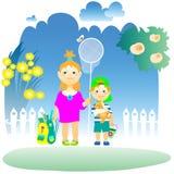 petits-enfants Images libres de droits