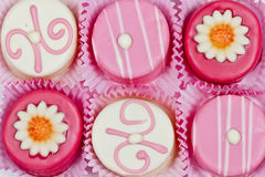 Petits fours Images stock