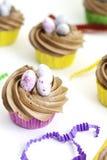Petits gâteaux avec le givrage Photographie stock