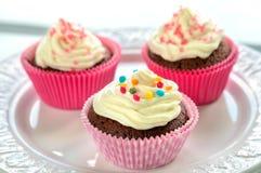 Petits gâteaux colorés de chocolat Photo libre de droits