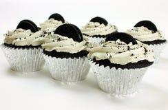 Petits gâteaux crèmes végétaliens enormes des biscuits n Photo stock