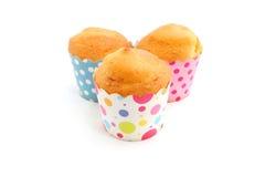 Petits gâteaux cuits au four frais Photographie stock