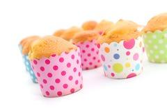 Petits gâteaux cuits au four frais Image stock