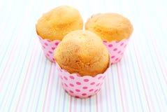 Petits gâteaux cuits au four frais Photo stock