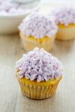 Petits gâteaux décorés Image stock