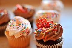 Petits gâteaux délicieux de désert Photo libre de droits
