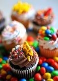 Petits gâteaux délicieux de désert Images stock