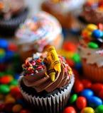 Petits gâteaux délicieux de désert Image libre de droits