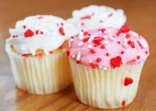 Petits gâteaux d'amour Photographie stock