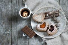 Petits gâteaux d'amour Photographie stock libre de droits