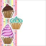 Petits gâteaux dans le vecteur illustration de vecteur