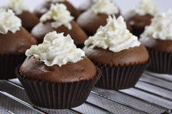 Petits gâteaux de chocolat Photo stock