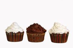 Petits gâteaux de chocolat Photographie stock libre de droits