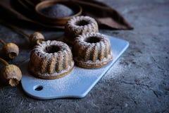 Petits gâteaux de digue de clous de girofle Images stock