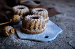 Petits gâteaux de digue de clous de girofle Image libre de droits