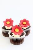 Petits gâteaux de fleur image libre de droits