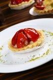 Petits gâteaux de fraise Photo stock