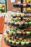 Petits gâteaux de Halloween photos stock