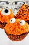 Petits gâteaux de monstre photographie stock libre de droits
