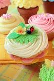 Petits gâteaux de printemps Photographie stock libre de droits