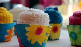 Petits gâteaux de serviette Photo libre de droits
