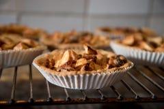 Petits gâteaux de tarte aux pommes Photo libre de droits