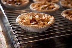 Petits gâteaux de tarte aux pommes Image libre de droits