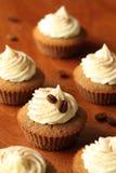 Petits gâteaux de tiramisu Photographie stock libre de droits